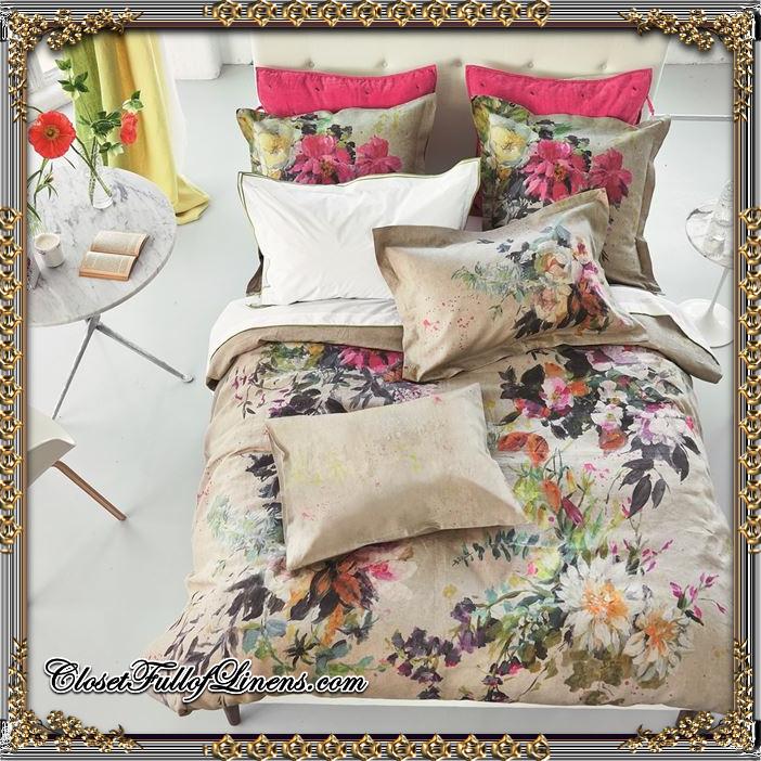 Aubriet Fuchsia Bedding Set