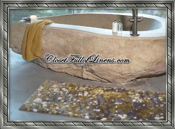 Boho Bath Mat Rug