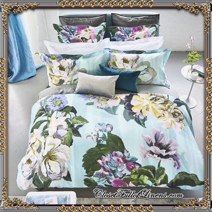 Delft Flower Sky Bed Set