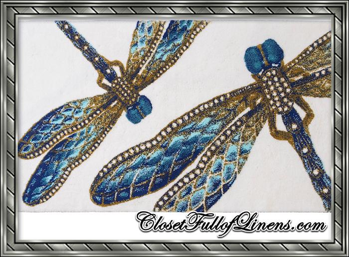 Felitsa Dragonfly Bath Rug