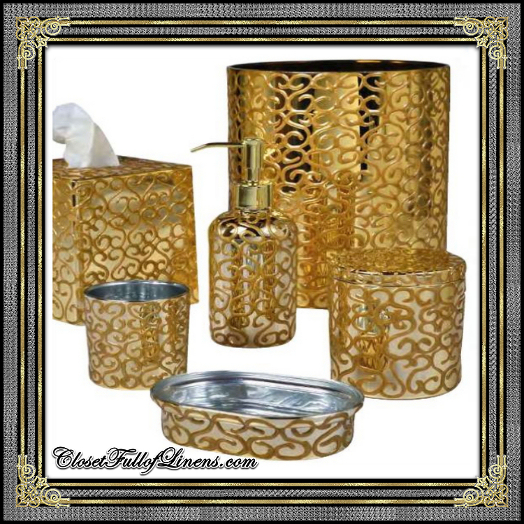 Gold Nova Jamila Bath Accessories