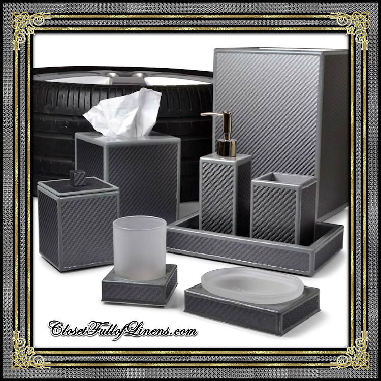 LeMans Grey Bath Accessories