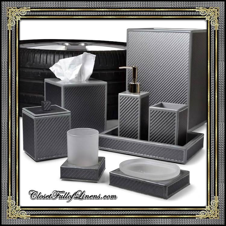 LeMans Grey Bath Accessories