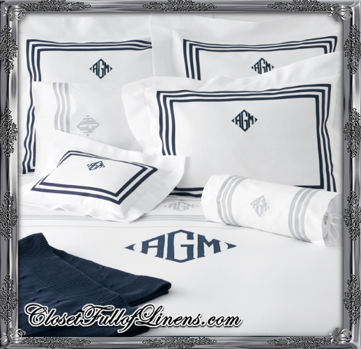 Newport Initials Bed Set