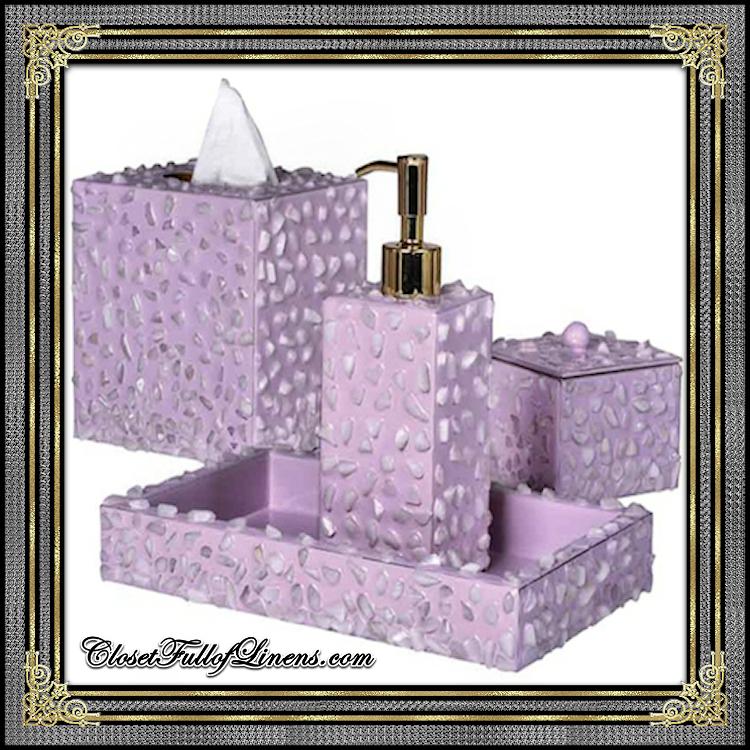 Rock Candy Bath Accessories