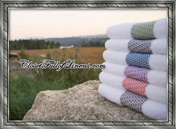 Tweed Bath Towels