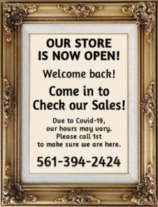 Closet Full of Linens in Boca Raton, Florida is Open!